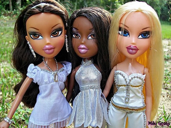 Pretty hard to find more damning evidence of mainstream culture encouraging underage marriage than Bratz! These girls are supposed to be teenagers!! All rights reserved by MsWatermelon813